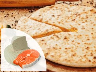 заказать осетинские пироги с лососем и сыром
