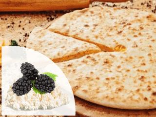 заказать осетинские пироги с творогом и ежевикой
